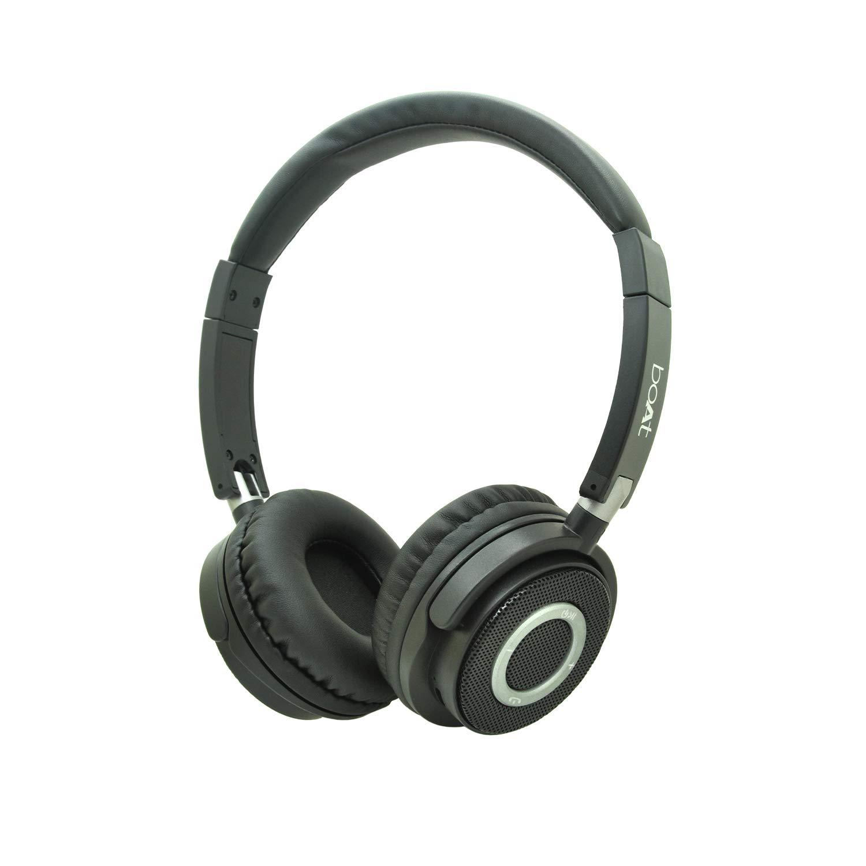 boAt 900 Wireless On-Ear Headphones (Charcoal Black)