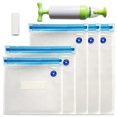 yofit Sous Vide bolsas reutilizable Alimentos bolsas de ...