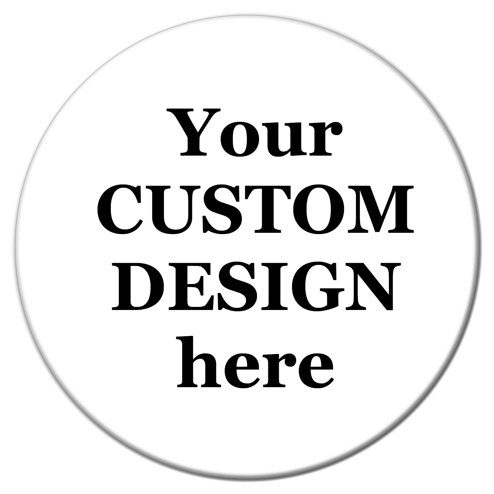 Henry the Buttonsmith Custom Magnet (2.25'' round, Magnet) by Buttonsmith