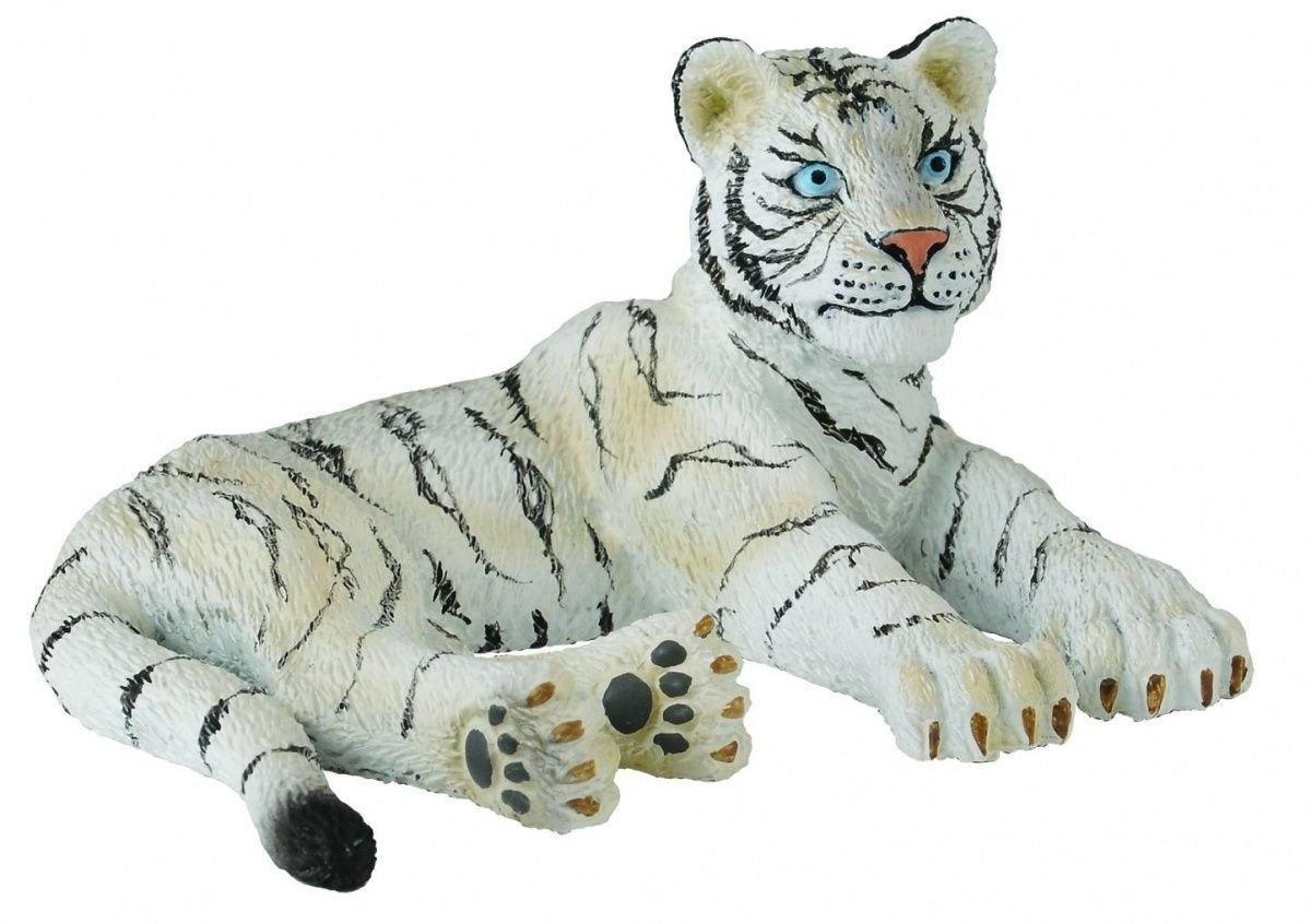 Dam - Tigre blanc - Allongé Collecta 88428 B0049TXO38