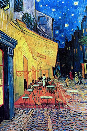 Vincent Van Gogh Cafe Terrace at Night Art Print Mural Giant Poster 36x54 inch ()