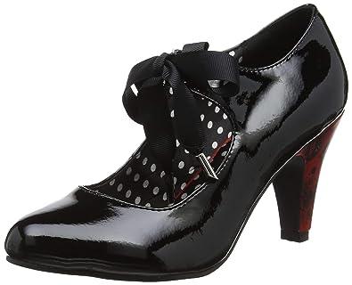 91bd92fdd467bc Joe Browns Damen Dusk Til Dawn Tie Shoes Pumps Schwarz (Black A) 37 EU