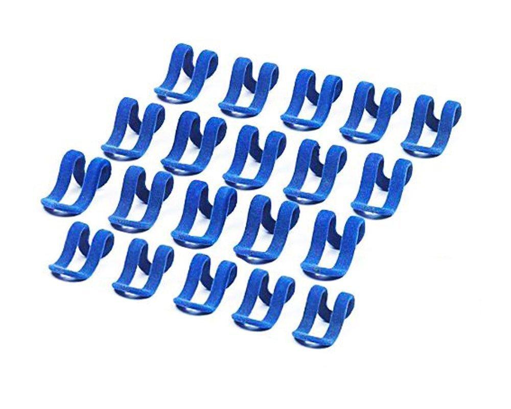 Adapt/é /à des cintres en m/étal en plastique Pour suspendre vos v/êtements en cascade sur un cintre Lot de 20/crochets Wilotick pour cintres en bois