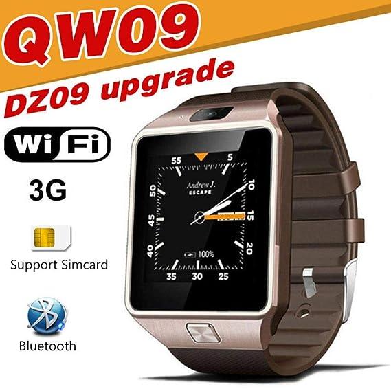 Relojes Inteligentes Qw09 Sport Smart Watch Bluetooth Sim ...