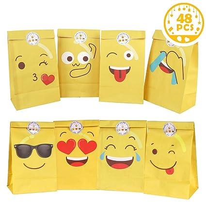 Amazon.com: Wmbetter - Bolsas de regalo para niños, 4 ...
