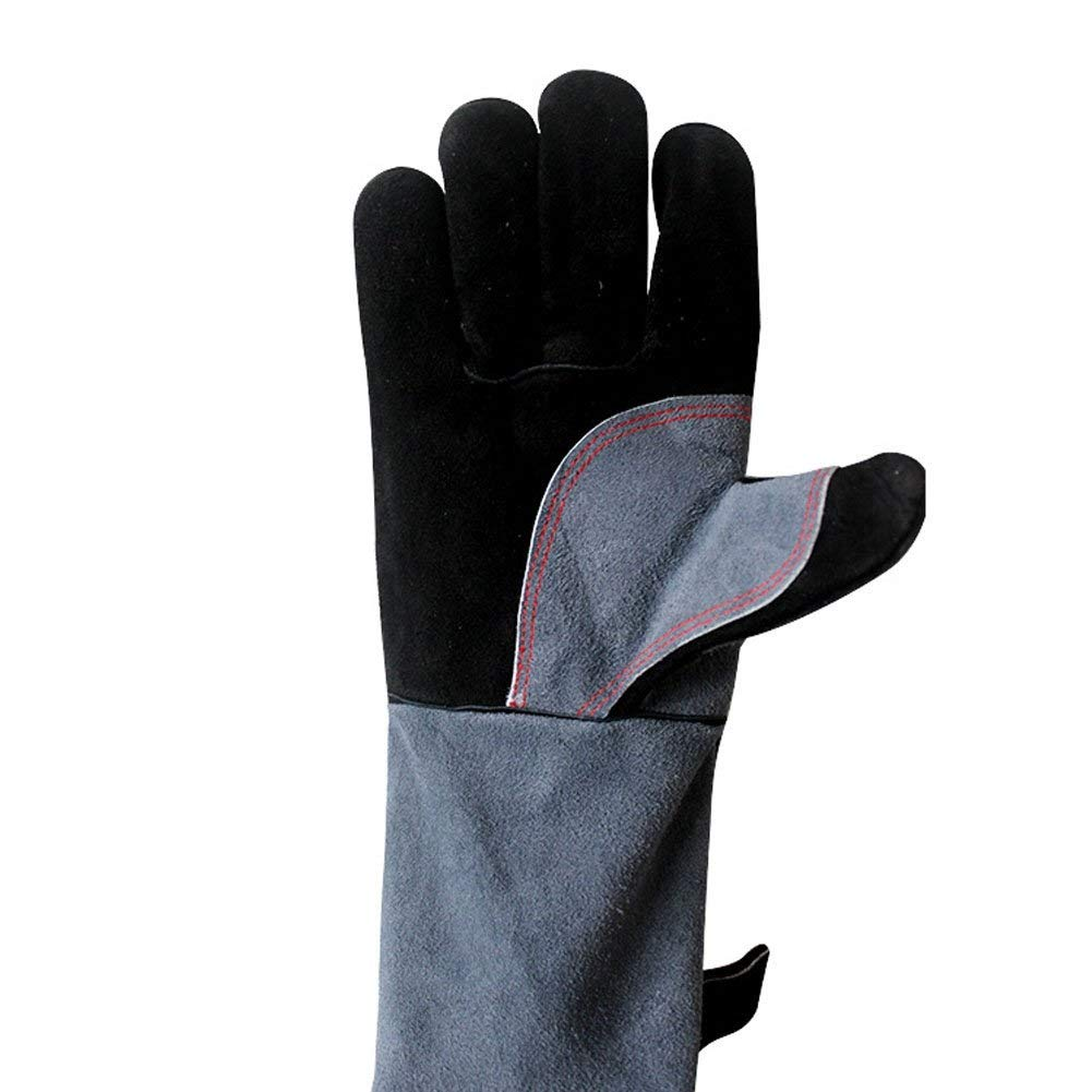 IRVING Barbecue gloves high temperature flame retardant insulation kitchen microwave oven baking outdoor bbq by IRVING (Image #2)