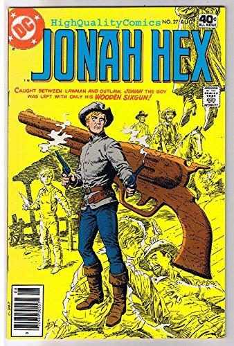 JONAH HEX #27, VF+, Wooden SixGun, Scar, 1977, more JH in store ()