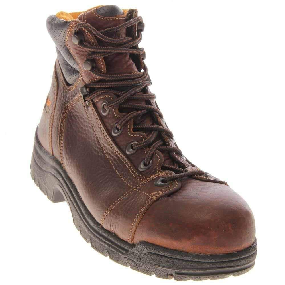 Timberland PRO Men's 50506 Titan 6'' Lace to Toe Safety Toe Boot,Haystack Brown,11 M by Timberland PRO