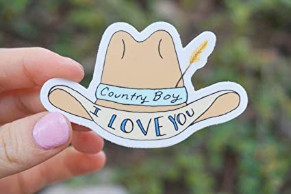 Amazon.com: Sticker Vine Laptop Country Boy I Love You Vine ...