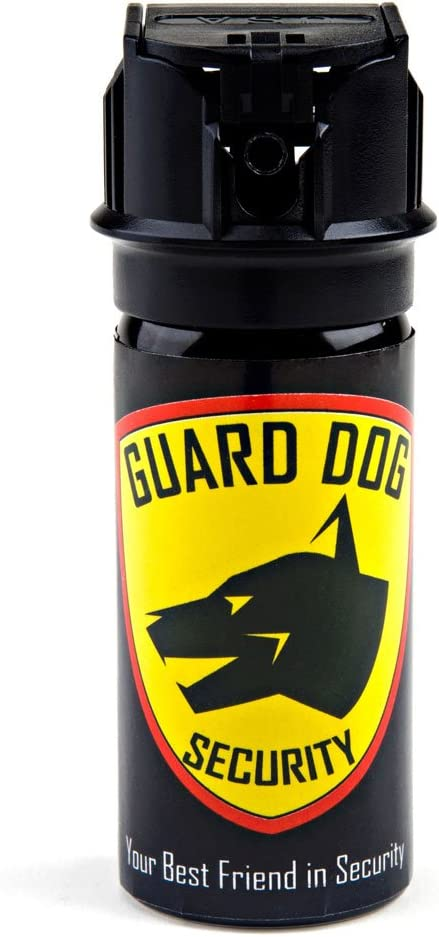 Guard Dog Security Fogger 2 oz Pepper Spray with UV dye - Police Strength with Flip Top Design – 25 Bursts