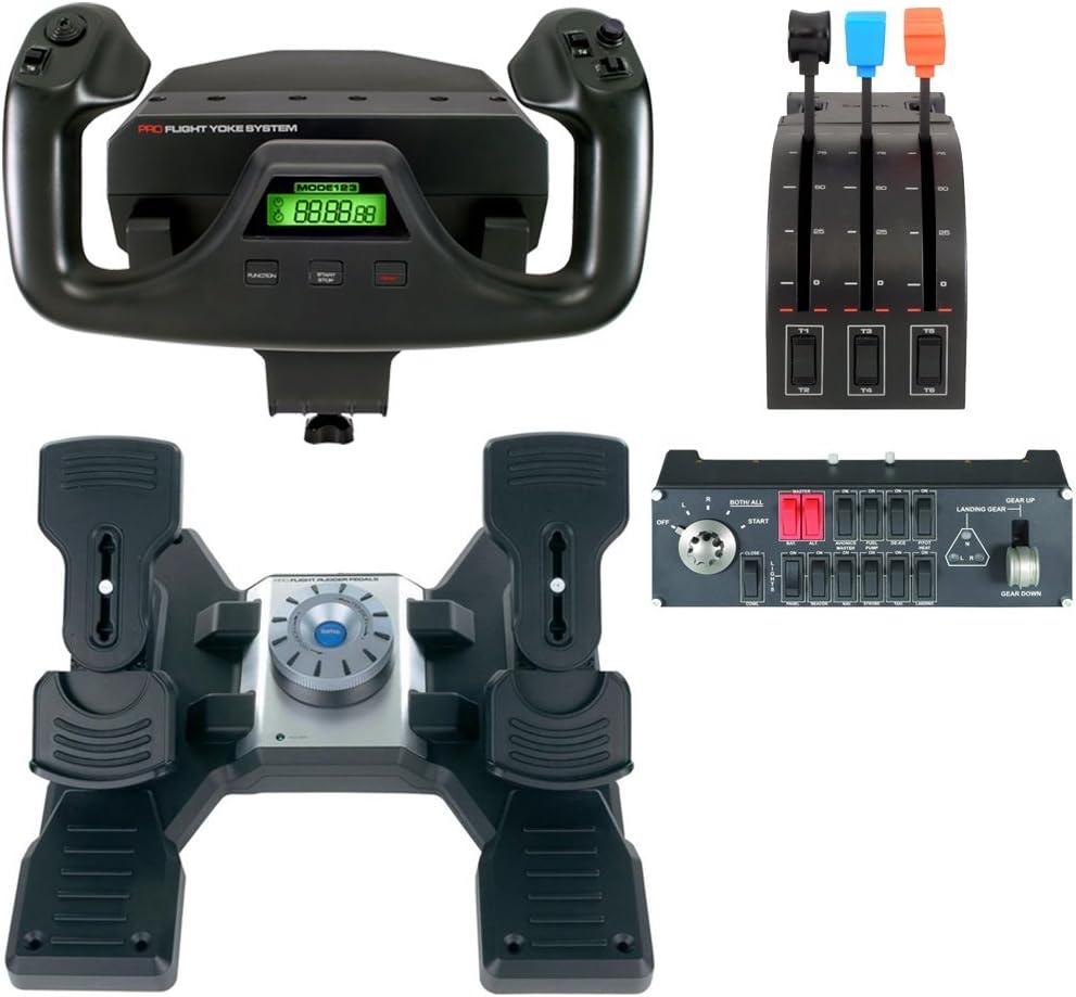 Saitek Pro Flight Rudder Pedals Renewed