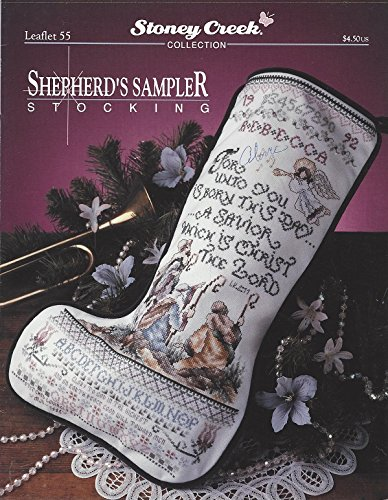 Shepherd's Sampler Stocking (Stoney Creek Leaflet 55)