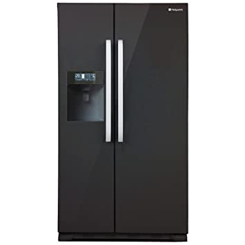 hotpoint sxbd 925 f wd freestanding 515l a black side by side rh amazon co uk