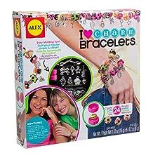 ALEX Toys - Do-it-Yourself Wear! I Heart Charm Bracelets Craft Kit, 736L