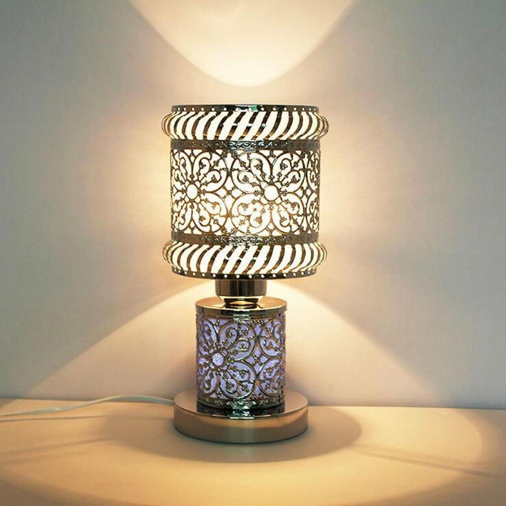 XIAOJIA Lámpara Escritorio Dormitorio lámpara de Mesa de ...