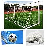 FidgetFidget Anchor Goal W/Net Straps for Football Training Sports 4x6ft 6x8ft 6x12ft 8x24ft