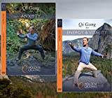 qigong energy - DVD Bundle: Lee Holden Qi Gong for Anxiety / Qi Gong for Energy & Vitality (YMAA) **NEW HD 2017**