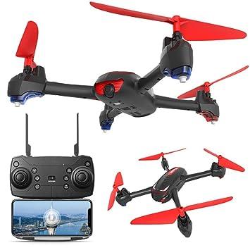 ZLMI Control Remoto Drone, cámara 1080P HD Transmisión en Tiempo ...