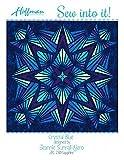 Bali Batiks 1895 Crystal Blue Quilt Kit Hoffman Fabrics JAKIT-230-Sapphire