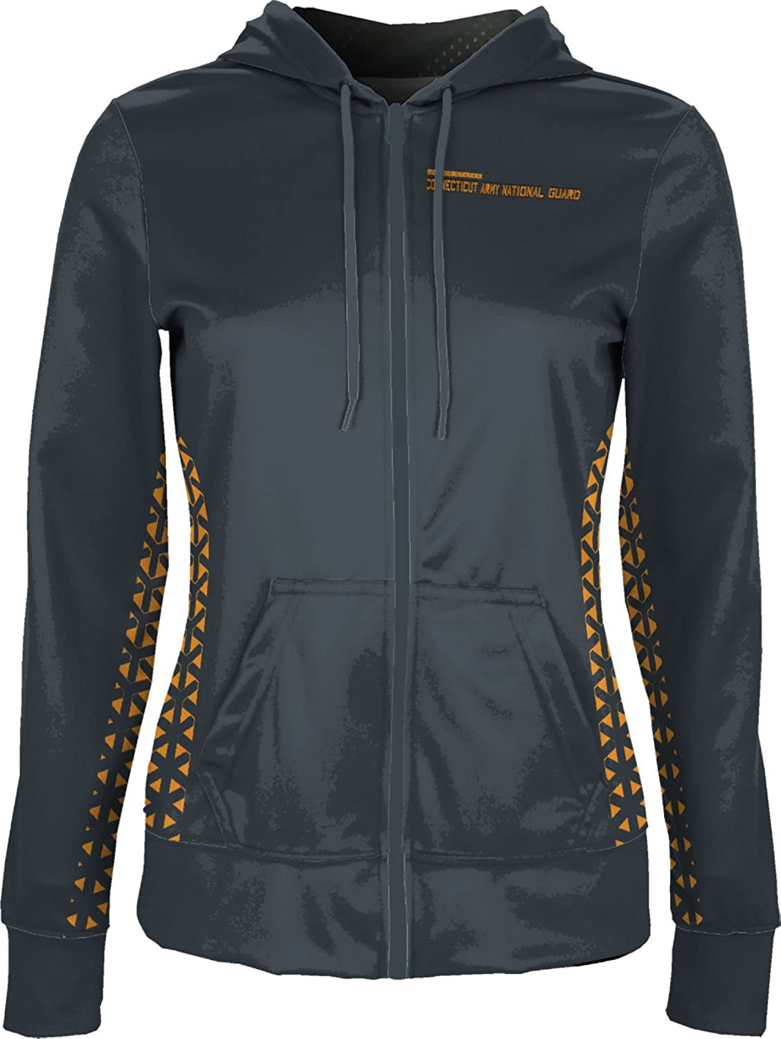 Women's Connecticut Army National Guard Military Geometric Fullzip Hoodie