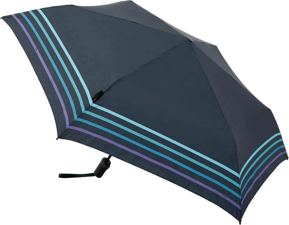Knirps 折りたたみ傘 ワンタッチ自動開閉 軽量スリム 【正規輸入品】 TS.220 SlimMediumDuomaticSafety StripeMysticBlue KNTSL220-4003 B076RDBJG5 Stripe Mystic Blue Stripe Mystic Blue