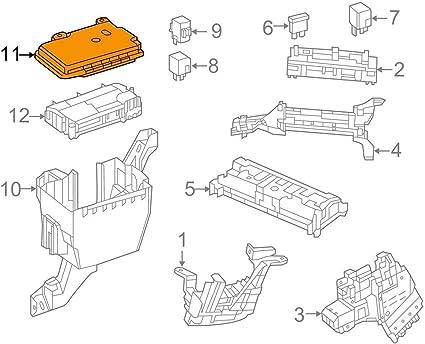 GTV INVESTMENT MB M-Class W166 A1665400182 - Cubierta para caja de fusibles (3,5 P): Amazon.es: Coche y moto