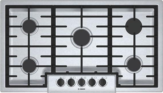 Amazon.com: Bosch NGM5655UC500 placa de cocción con ...