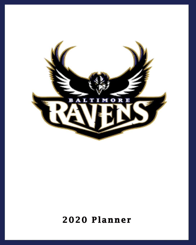 Ravens 2020 Schedule.Baltimore Ravens 2020 Planner Calendar Agenda Daily Monthly