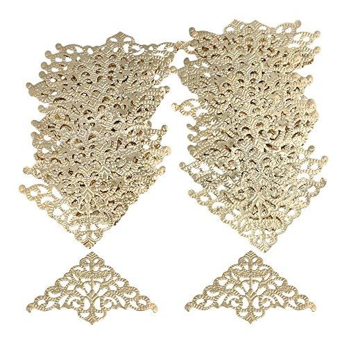 gold brackets for shelves - 6