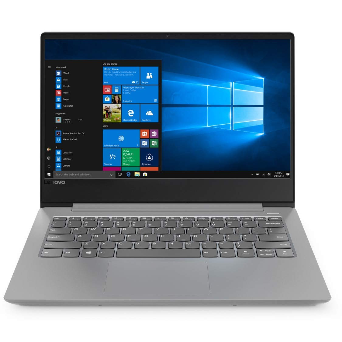 Buy Lenovo Ideapad 330s Amd A6 14 Inch Thin And Light Laptop 4gb Hard Drive On A Circuit Board Clock Awesome Combination 1tb Hdd Windows 10 Home Platinum Grey 16kg 81f8001cin Online At Low Prices In India