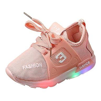 fdae023db64bc Poiude Chaussures de Sport pour Enfants 7 Chaussures Respirantes pour  Enfants