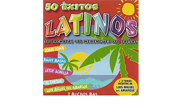 50 Éxitos Latinos (30 Bachatas, 10 Merengues, 10 Salsas) by Varios Artistas on Amazon Music - Amazon.com