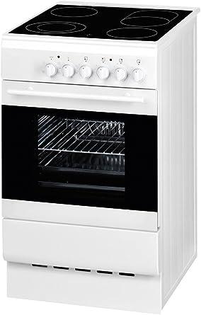 EMAX SEH 542 KC eléctrico de Stand Horno con vitrocerámica Color Blanco: Amazon.es: Grandes electrodomésticos