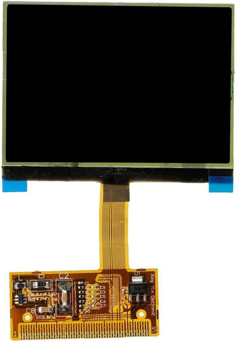 REFURBISHHOUSE Instrument Grappe Verre tachymetre ecran daffichage LCD pour Audi TT A6 Jaeger