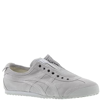 official photos b03db eae47 Onitsuka Tiger Asics Unisex Mexico 66 Slip-On Glacier Grey/Glacier Grey  Sneaker