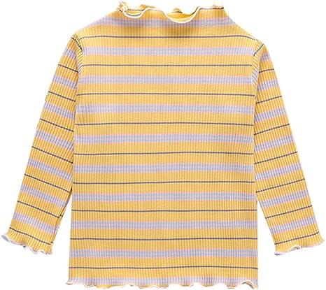 K-Youth Ropa Bebe Niña Invierno Rayas Camiseta Manga Larga Bebe ...