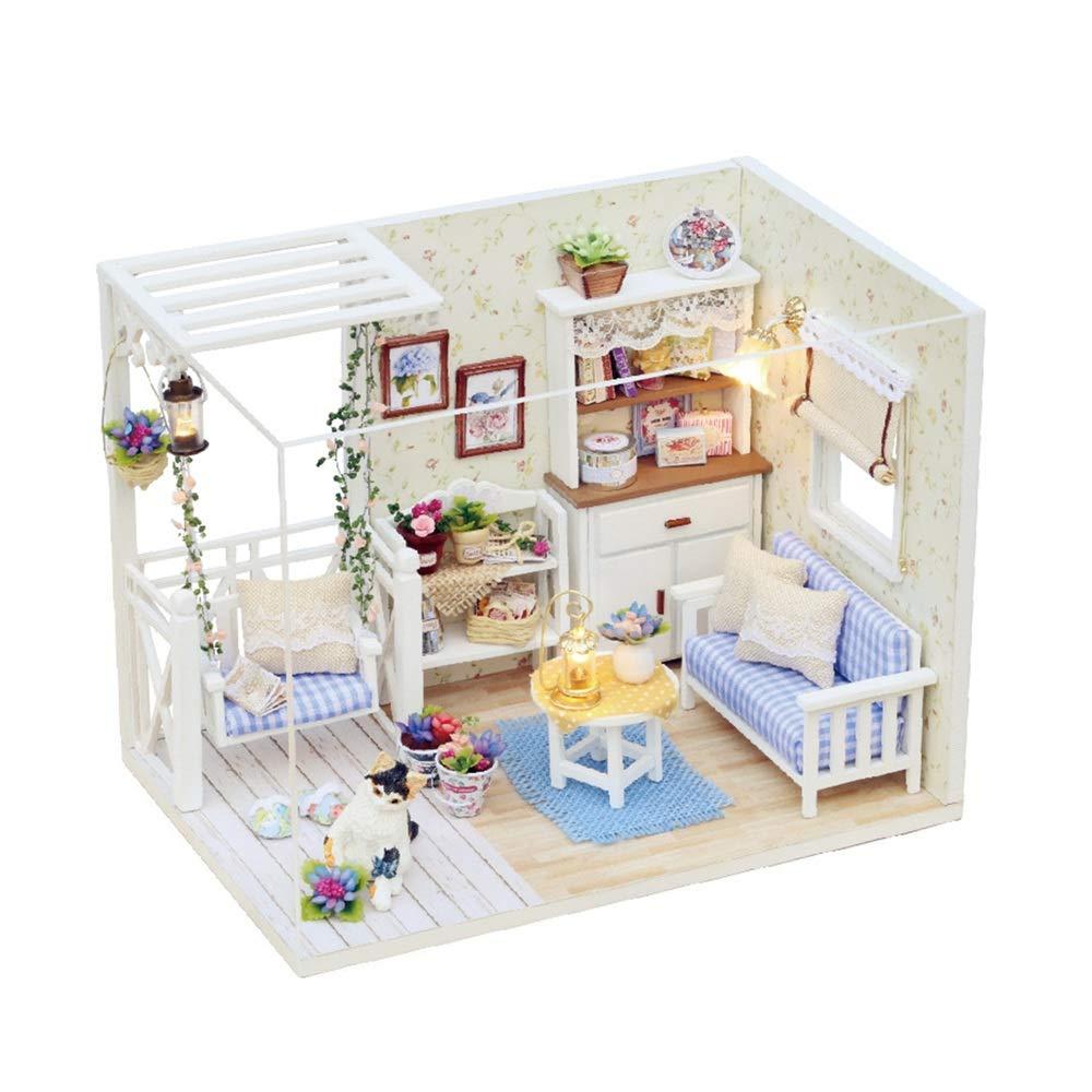 Kinderspielzeug 3D Puzzles Handmade Handmade Handmade Miniature Dollhouse DIY Kit