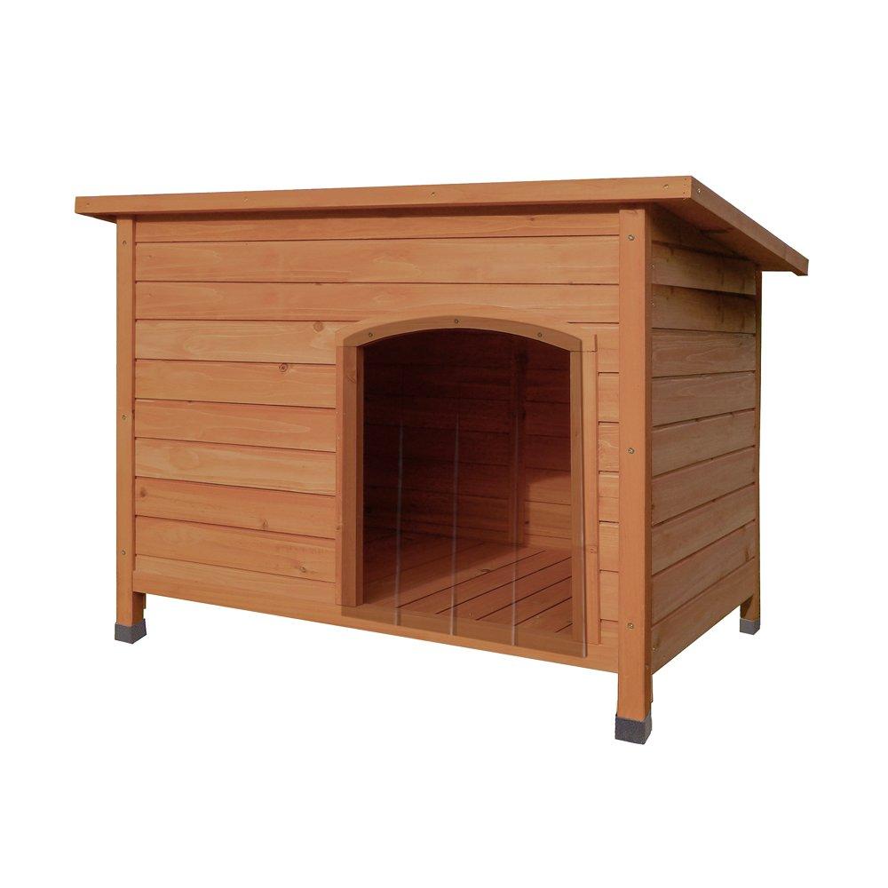 Tuff Concepts Hund Hütten, groß Holz Haus mit herausnehmbarer Boden