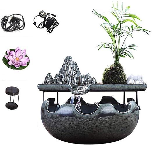 Fuente de Agua Interior con nebulizador - Adornos Zen Feng Shui ...