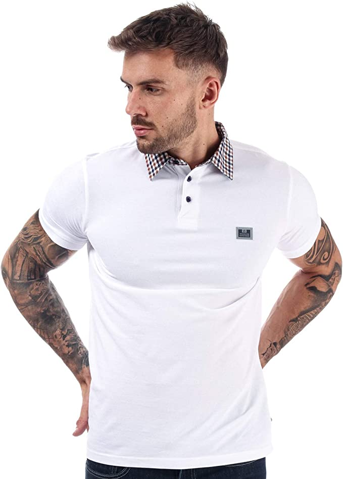 Weekend Offender - Polo para Hombre, Color Blanco Blanco XXL ...