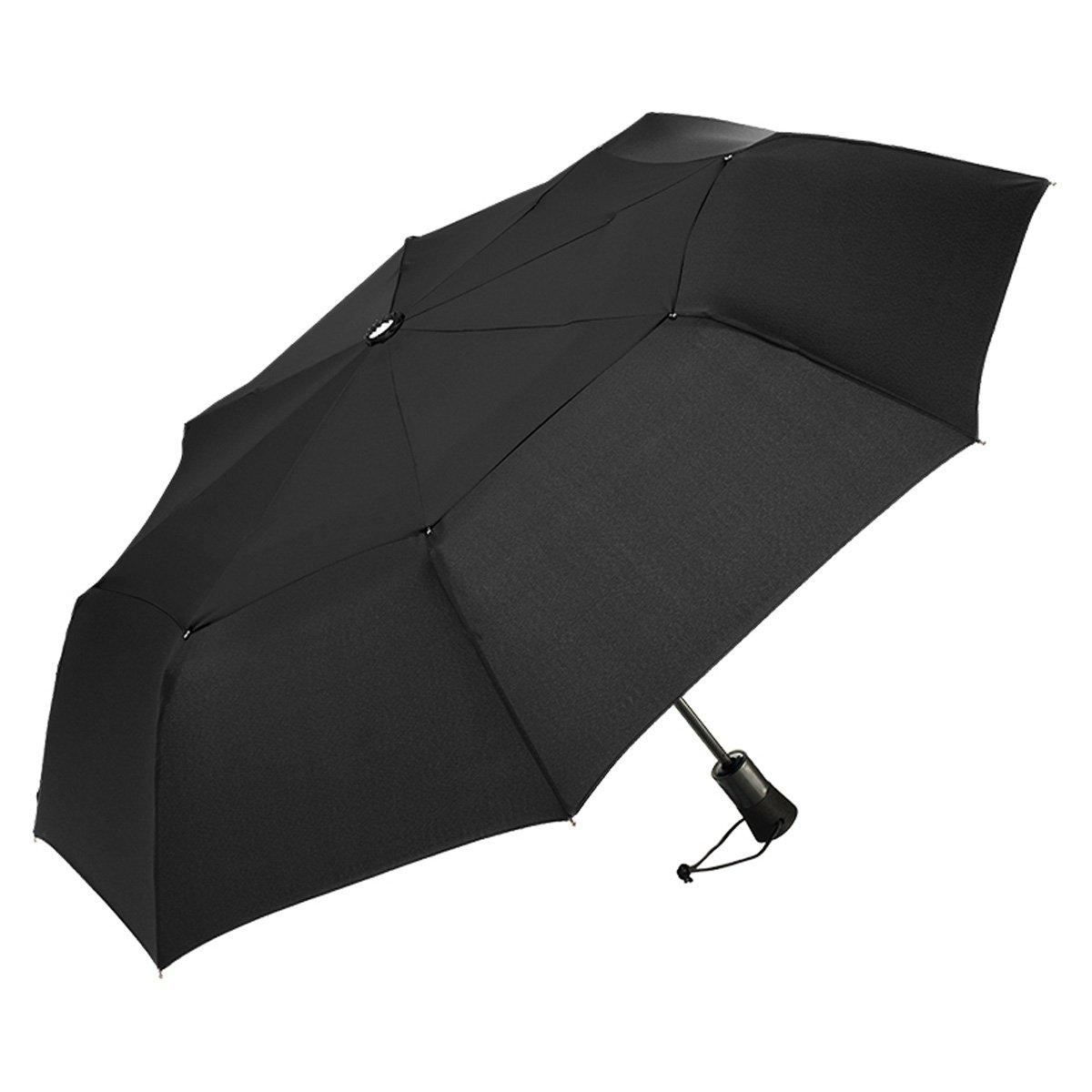 ShedRain WindPro Vented Auto Open Auto Close Compact Umbrella with Teflon