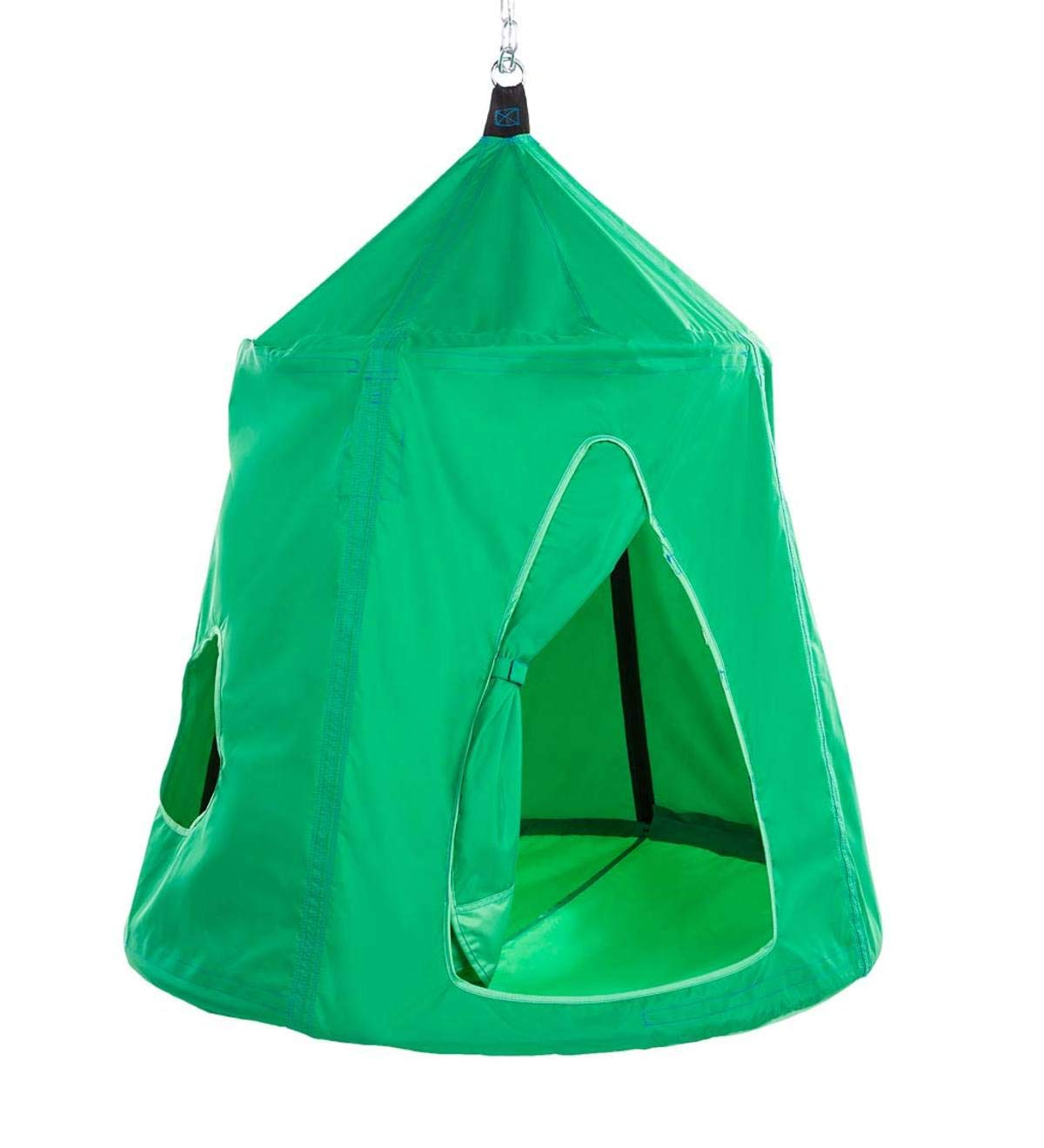 HearthSong Go! HugglePod Hangout Portable Hanging Tree Tent - Spring Green by HearthSong