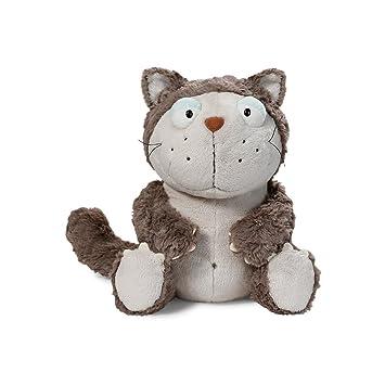 NICI - Lazy, Gato de Peluche, 45 cm, Color Gris (39028): Amazon.es: Juguetes y juegos
