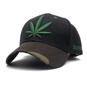 LXYSLX Bordado De Hierba De Moda Maple Leaf White Cap Sombreros ...