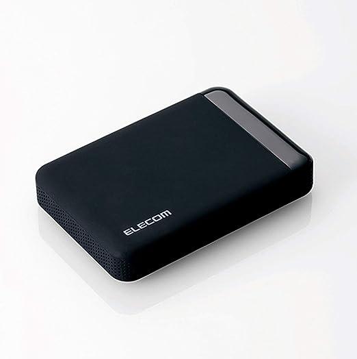 エレコム ポータブルハードディスク USB3.0 ハードウェア暗号化 管理ソフト対応 セキュリティ機能(トレンドマイクロ3年ライセンス付) 3年保証 2TB ELP-S020T3