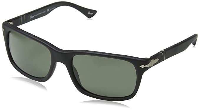 6573ad0ebe3b Persol Men's PO3048S - Polarized Black Antique/Grey Polarized ...