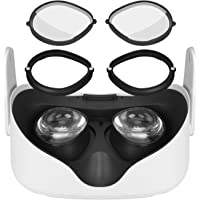 MASiKEN Clip Lens Protection Myopia Glasses for Oculus Quest 2,Quest 1, Rift S or Oculus Go,VR Magnetic Eyeglass Frame…