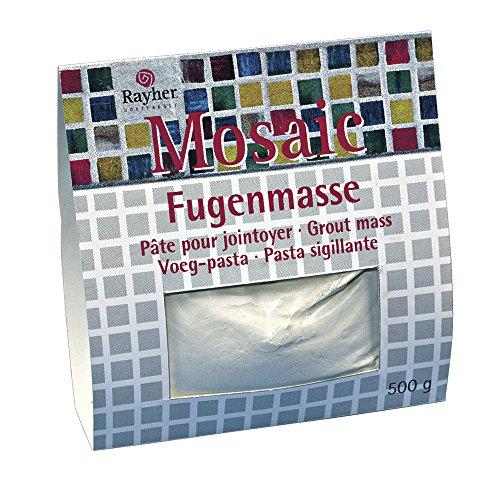 Rayher 1460000 Fugenmasse für Mosaikarbeiten, 500 g