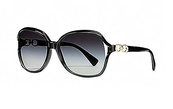 Amazon.com: Coach Kissing C cuadrado anteojos de sol con ...