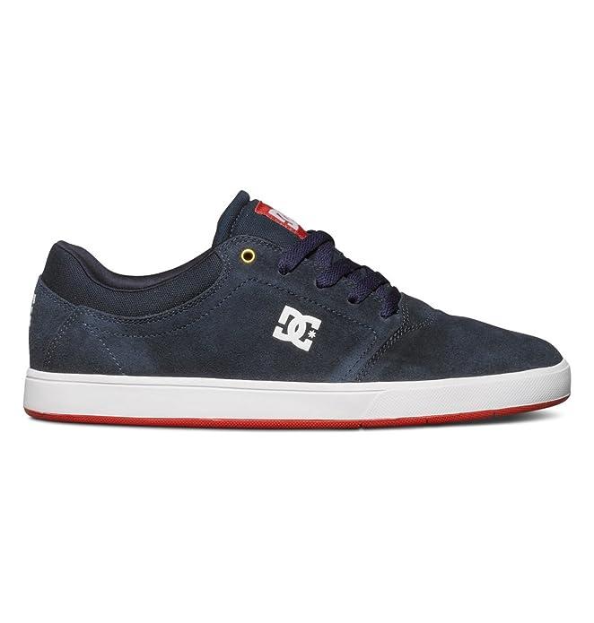 DC Shoes Crisis Sneakers Skateboardschuhe Herren Erwachsene Marineblau/Rot